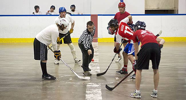 clarence-rockland ball hockey league